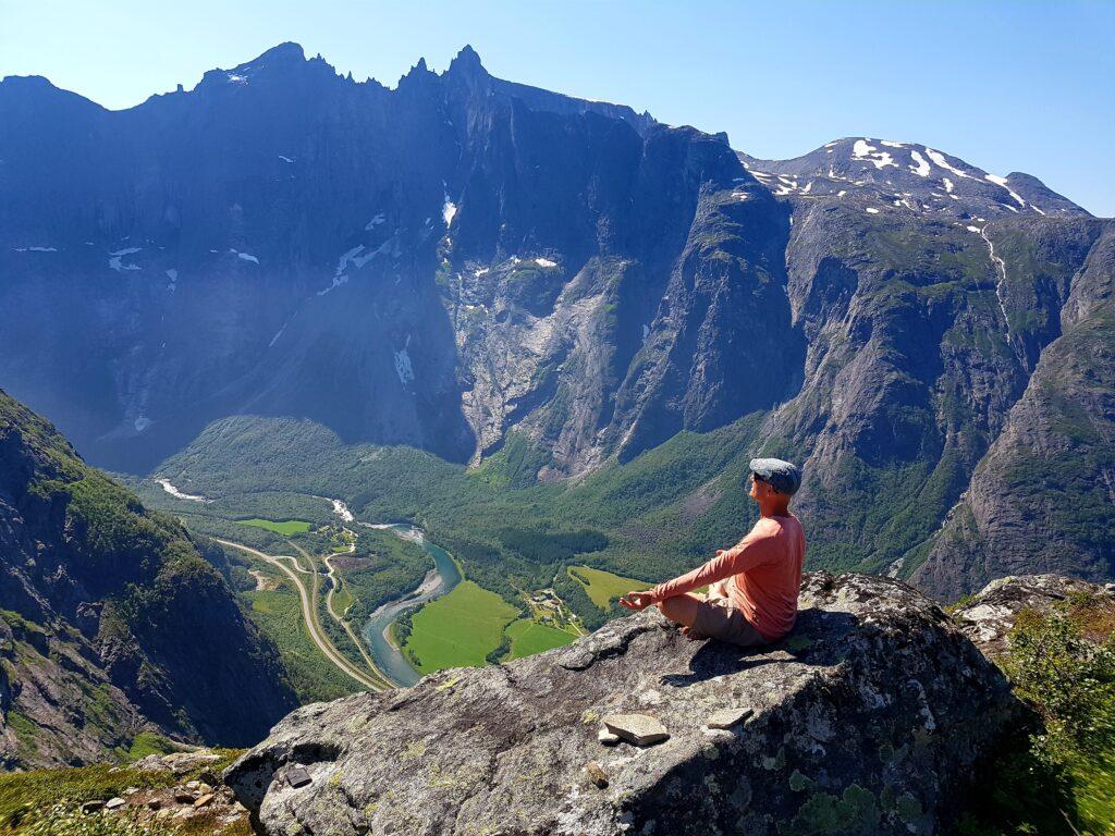 Trekking and meditation in Norway, Litlefjellet