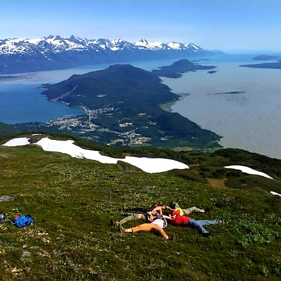 yoga hiking retreat alaska